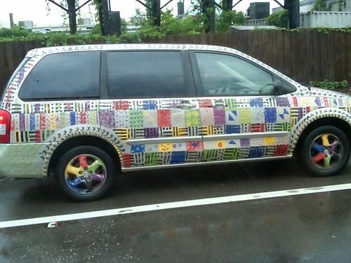 Technicolor Minivan