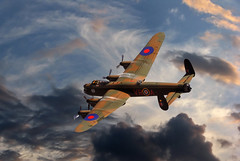 Avro Lancaster (posterboy2007) Tags: wwii merlin lancaster british bomber avro
