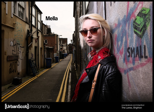 Street Portrait Challenge 008 Mella