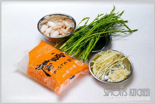 蟹肉蘆筍花蒟蒻麵03