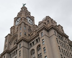 Liverpool - Royal Liver Building (grab a shot) Tags: panasonic lumix gx80 england uk liverpool royalliverbuilding threegraces