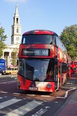 IMGP5390 (Steve Guess) Tags: waterloo station london lambeth england gb uk bus nb4l nbfl newroutemaster borisbus borismaster borismonster coke cola advert