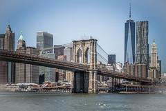 Brooklyn Bridge Cityscape 2 (12bluros) Tags: brooklynbridge oneworldtradecenter skyscapers skyline bridge manhattannewyork cityscape eastriver canonef24105mmf4lisusm newyorkcity unitedstates