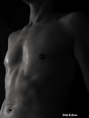 Moore beauty of Man (lilitht.aries) Tags: chest sexyman man nude fit blackandwhite