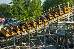 Beech Bend-38 (alexsabatka) Tags: beechbend amusementpark bowlinggreenky bowlinggreen kentucky rollercoaster kentuckyrumbler gci woodencoaster themepark ridewithace ace americancoasterenthusiasts