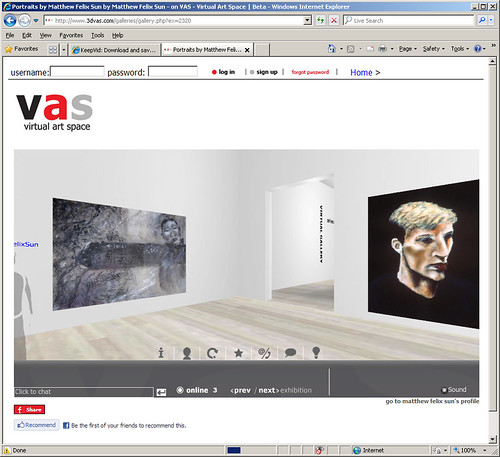 3DVas Portrait Gallery Screenshot 2