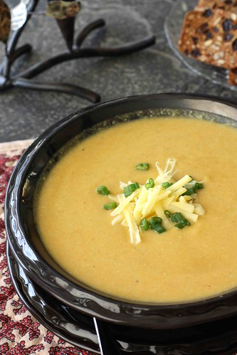 Creamy (but healthy) Carrot-Jalapeno Soup Recipe