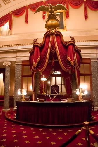 Old Senate Chamber inside Capitol
