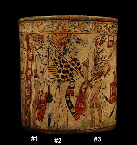 Mayan War Vase – Battle Scene (Side D)