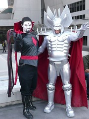 Mister Sinister and Stryfe (BelleChere) Tags: costume comic geek cosplay cartoon marvel dragoncon 2010 stryfe mistersinister
