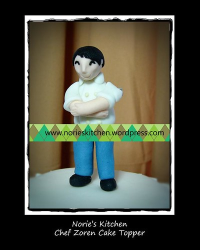 Norie's Kitchen - Zoren Legaspi's Birthday Cake - Chef Zoren Topper