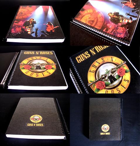 Caderno Guns N' Roses