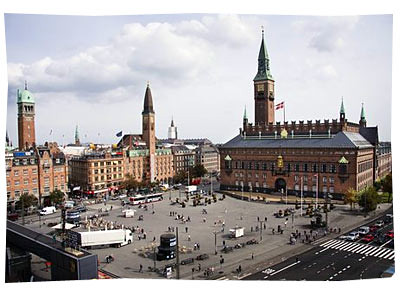 Denmark, Copenhagen, City Hall