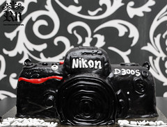 My b,day cakes (Rawan Mohammad ..) Tags: birthday camera black cakes cake happy photography design nikon day photographer photos sweet birth australia brisbane mohammed saudi arabia bday tamron mohammad 2010 rn  rawan        d300s rnona     almuteeb