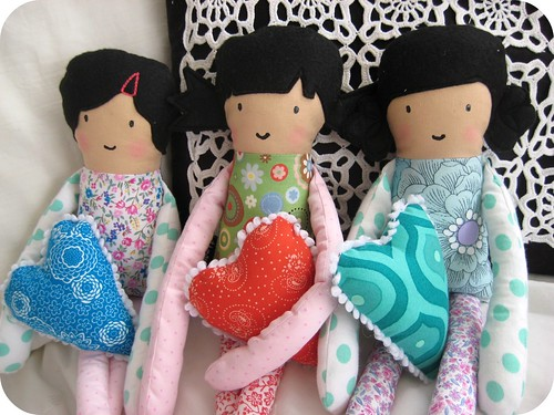 v-day doll set