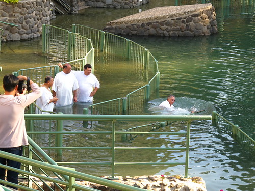 Baptisms at Yarden in the River Jordan