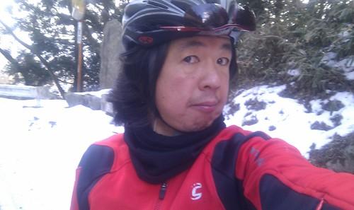 御斎峠も雪の中