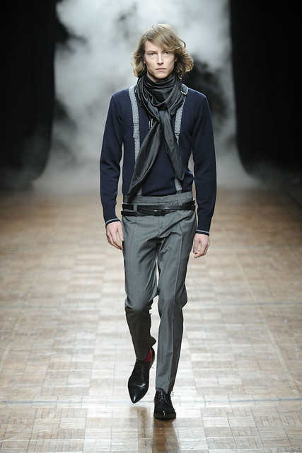 Christian Brylle3185_FW11_Paris_Bill Tornade(Simply Male Models)