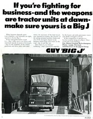 How could it all have gone so badly wrong? (Renown) Tags: guy truck lorry advertisment trucking hooks lorries britishleyland haulage bigj tractorunit headlightmagazine