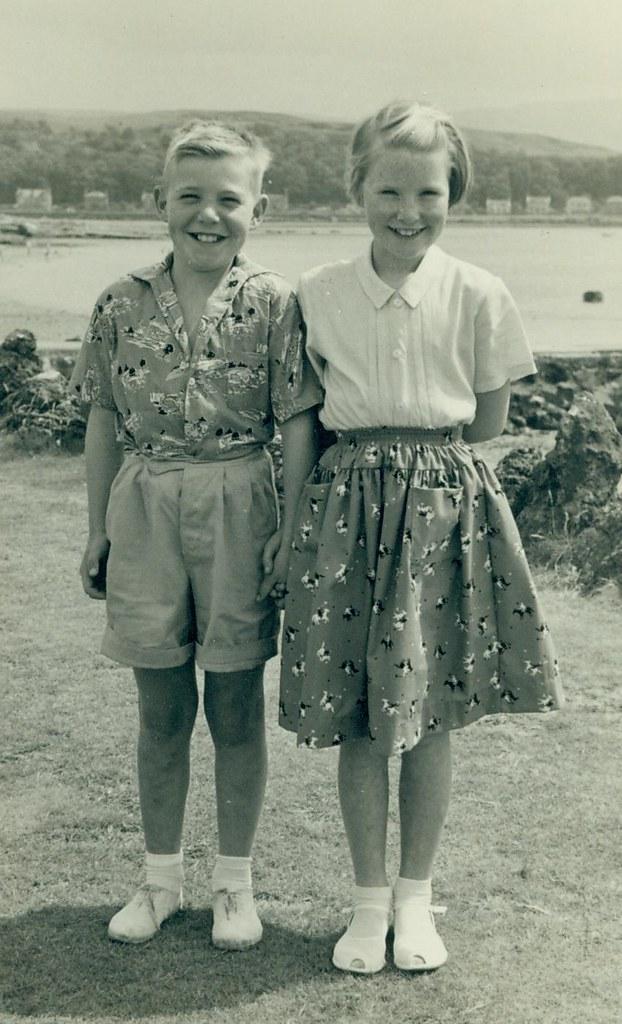 Evelyn and Jim Fraser 1960