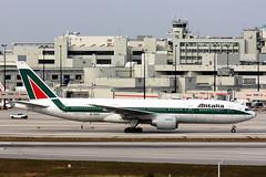 B777-2.EI-DBK-1 (Airliners) Tags: mia boeing 777 alitalia boeing777 b777 1611 b7772 eidbk