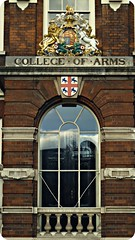 [ Home to Heraldry ] The College of Arms, City...