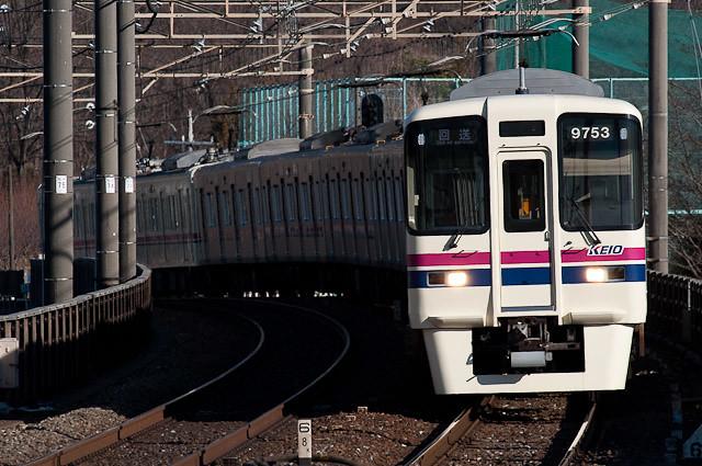 京王電鉄9003F+6412F 回送