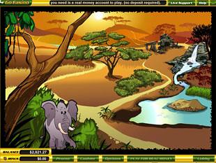 free Safari Hunt slot bonus feature