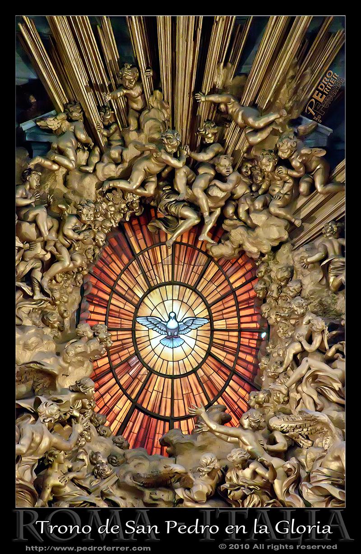 Roma - San Pedro - Gloria de Bernini