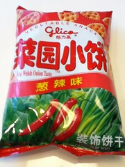 2011-02-02 - Glico hot welsh onion biscuits - 01 - Packet