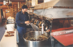 Inside a Canadian Maple Sugar Shack