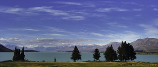 Painting of Lake Tekapo, New Zealand #iPhoneography