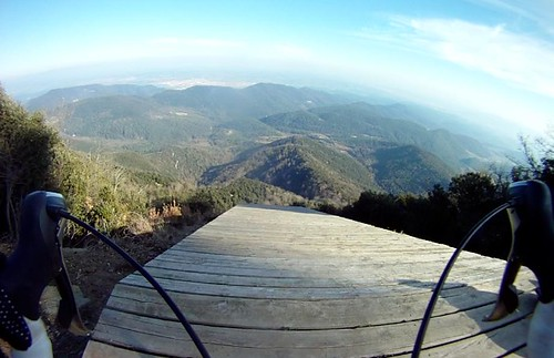Hang glider ramp off Rocacorba