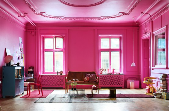 hot+pink+french+room