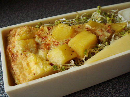 Bento With French Flair: Omelette & Comte