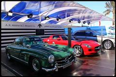 MERCEDES SL GULLWING-SLS63 (mb.560600.kuwait) Tags: show red macro slr cars chevrolet car canon 50mm nice nikon f14 ss s65 ferrari 100mm camaro sl mclaren showroom mercedesbenz gto kuwait 60mm f18 dslr 70300mm corvette lamborghini f28 28135mm sls gt2 gallardo sl65 s55 2010 gullwing sl55 v12 gt3 70200mm zr1 s600 18200mm 500sl zo6 w126 560sl r107 sl600 s63 599gtb r129 sl63 18250mm 55250mm mercedes560 mirshlago