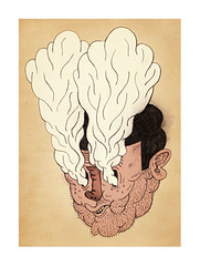 ... (pearpicker.) Tags: illustration drawing smoke pearpicker benerohlmann