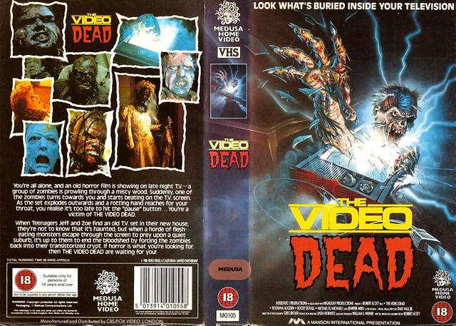 The Video Dead (VHS Box Art)