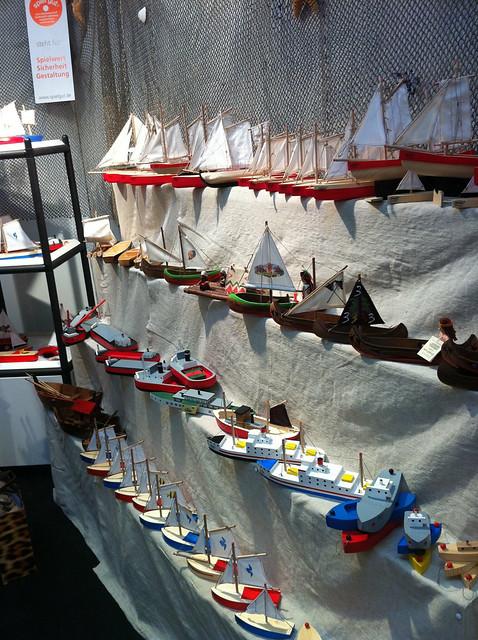 OGAS-Schiffe auf der Spielwarenmesse