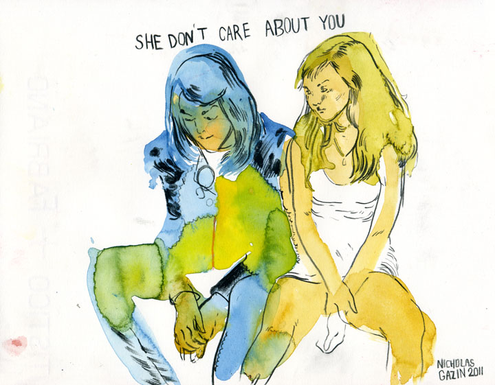 2011/01/27 She Don't Care About You