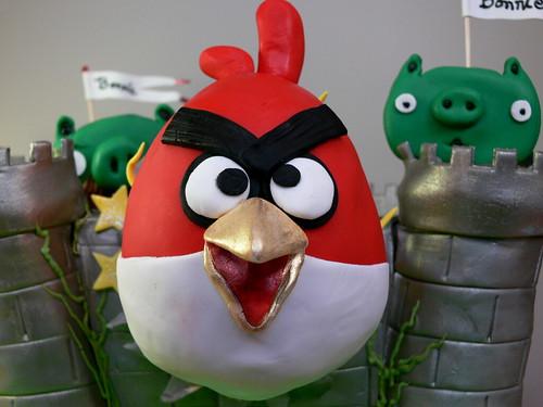 angry birds closeup