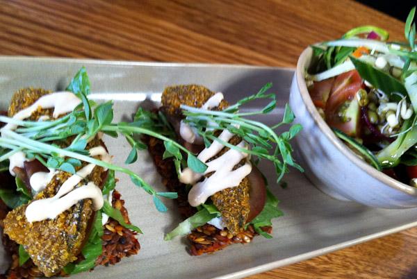 Vegie Bar: Flaxseed Crackers (Raw)