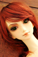 Foxy Foxy (Ophelia's Room) Tags: red orange hair foxy ginger doll head marion sd bjd custom zero abjd alchemic labo unoa