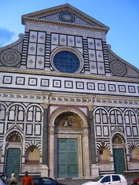 サンタ・マリア・ノヴェッラ教会のフリー写真素材