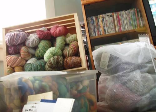 yarn and locks