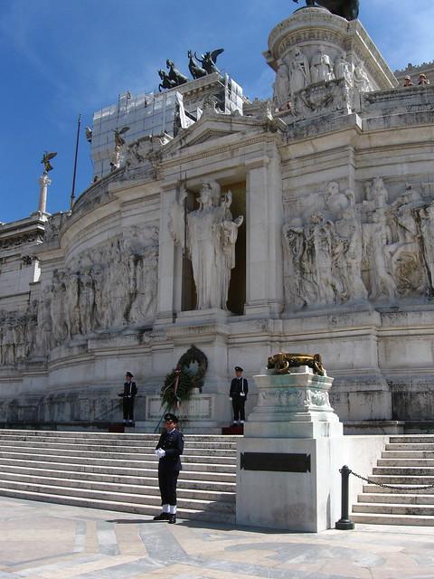 ローマの美術館のフリー写真素材
