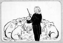 Edvard Grieg caricature