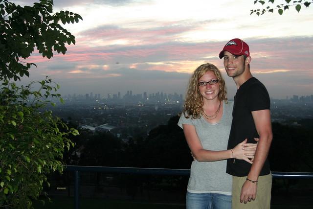 overlooking Manila