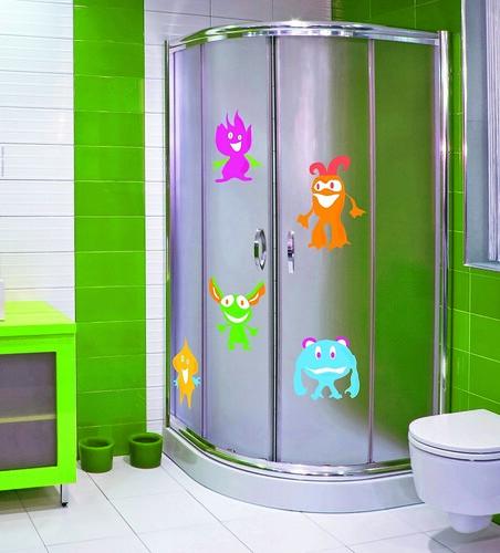 vinilos para mamparas de ducha
