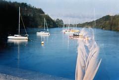Diana (teacup_dreams) Tags: lake fashion boats exposure double diana